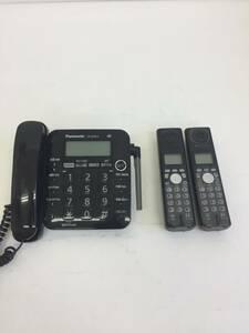 パナソニック V E-G P35K  コードレス電話機  コードレス子機2台