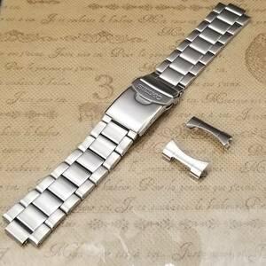 純正 Seiko セイコー 22mm 腕時計バンド 7S36-03C0 SNFZ17K1 SNZF11 SNZF13 SNZF15 用 ステンレスベルト 300F1JM-L