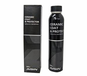 AISIN オイル添加剤 セラミックコート&プロテクター 300ml ADPAZ-9003[Ceramic Coat & Protector]