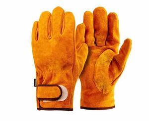 耐熱手袋 BBQ 耐熱グローブ アウトドア用 作業革手袋Lサイズ