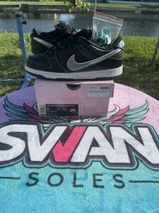 ナイキ SB ダンク Low Diamond Supply ブラック size 7 メンズ Sneakers Shoes BV1310-001 SBs 海外 即決