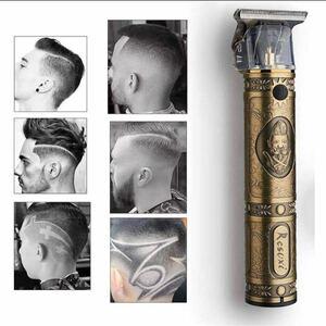 バリカン 散髪 電動 バリカン ヘアーカッター コードレス USB充電式 ヘアトリマー メンズ散髪用精密彫刻 カミソリ 男性用子供