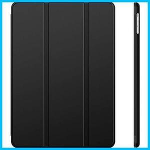 グリーン JEDirect iPad Air ケース (第1世代) レザー 三つ折スタンド オートスリープ機能 スマートカバー