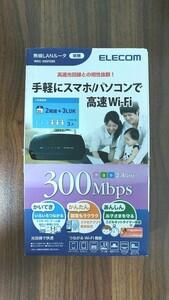 エレコム wrc-300febk 無線LANルータ