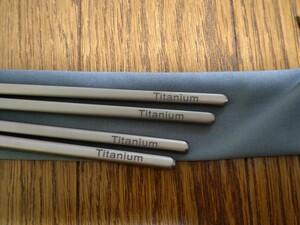 チタン製 箸(新品)
