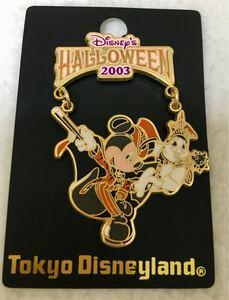 ディズニーランド ハロウィン 2003年限定 ピンバッチ ミッキー