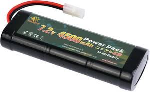 7.2V 4500mAh ラジコン RCカー用 Ni-MH ニッケル水素バッテリー タミヤコネクター付き