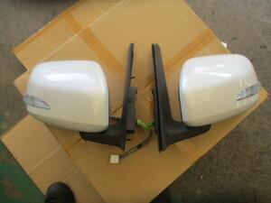 G0103 213014 ダイハツ タントカスタム ドアミラー左右セット L375S 030911