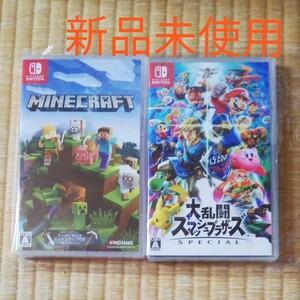 大乱闘スマッシュブラザーズ&マインクラフト② NintendoSwitch