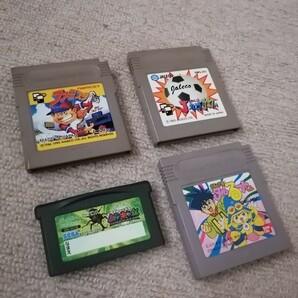 任天堂ゲームボーイソフト 4本