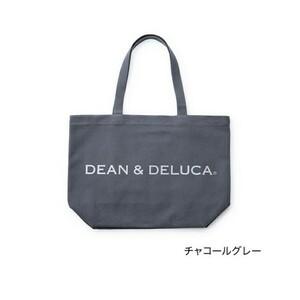 DEAN & DELUCA トートバッグ L チャコールグレー
