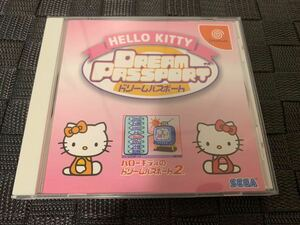 DC非売品ソフト ハローキティのドリームパスポート2 HELLO KITTY Dreamcast ドリームキャスト not for sale Dream Passport 非売品グッズ
