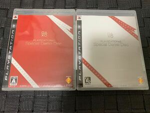 PS3体験版ソフト PLAYSTATION3 Special Demo Disc red white 2枚セット プレイステーション DEMO DISC 非売品 biohazard METAL GEAR SOLID