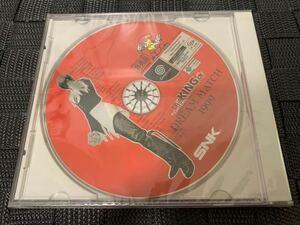 DC店頭用体験版ソフト KING OF FIGHTERS DREAM MATCH 1999 ドリームキャスト キングオブファイターズ SNK 非売品 DREAMCAST DEMO DISC SEGA