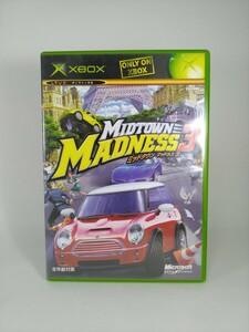 【XBOX】ミッドタウン マッドネス 3 MidtownMadness3 xboxソフト XBOX ソフト