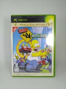 【XBOX】 シンプソンズ ヒットアンドラン The Simpsons Hit&Run xboxソフト