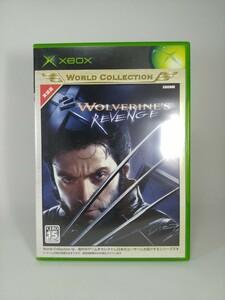 【XBOX】 WOLVERINE'S REVENGE ウルヴァリン リベンジ XBOXソフト
