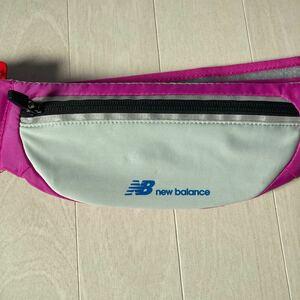 新品未使用 ニューバランスnew balance ランニングポーチ ウエストポーチ ウェストバック