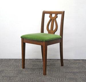 ◎三越家具 三越ブルージュ Brugge デスクチェア / オーク材 英国カントリー家具 / ダイニングチェア 家具 椅子
