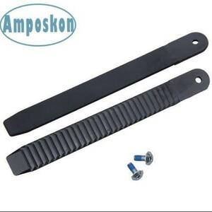 1 ペアスノーボード足首はしごストラップ結合交換黒 8.86 インチの長さ