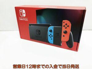 新品 新型 Nintendo Switch Joy-Con(L) ネオンブルー/(R) ネオンレッド ゲーム機本体 未使用 1A9000-581e/F4