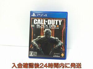 PS4 コール オブ デューティ ブラックオプスIII  ゲームソフト 状態良好 1A0623-332ck/F8