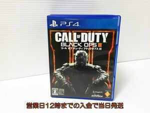 PS4 コール オブ デューティ ブラックオプスIII ゲームソフト 状態良好 1A0027-164ey/F8