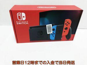 新品 新型 Nintendo Switch Joy-Con(L) ネオンブルー/(R) ネオンレッド ゲーム機本体 未使用品 1A0771-4260e/F4