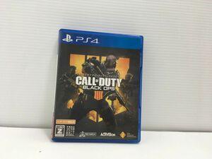 PS4 コール オブ デューティ ブラックオプス 4【CEROレーティング「Z」】 ゲームソフト タバコ臭あり 1A0018-026sy/F8
