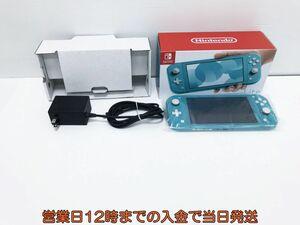 【1円】Nintendo Switch Lite ターコイズ ゲーム機本体 初期化動作確認済み 1A9000-634e/F3