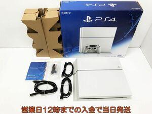 【1円】PS4 グレイシャー・ホワイト (CUH-1200AB02) ゲーム機本体 初期化動作確認済み 1A2000-385e/F4