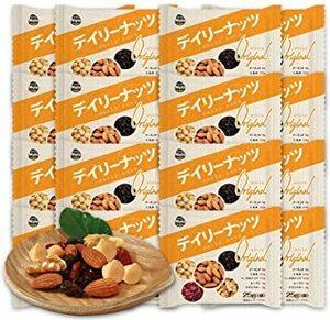 ミックスナッツ デイリーナッツ Original 25gx20袋 小分けナッツ 個包装 小袋 産地直輸入 無塩 メール便発送 (