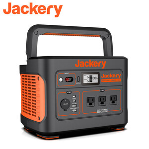 [ new goods, free shipping ] Jackery portable power supply battery 1000 sleeping area in the vehicle camp outdoor disaster prevention goods