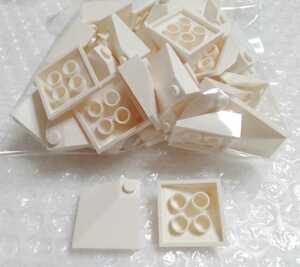 50個 3×3 スロープ 屋根 白 未組立 未使用 LEGO レゴ レゴブロック 部品 パーツ