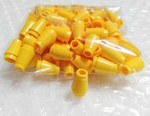 100個 1×1 円錐形 黄色 未組立 未使用 LEGO レゴ レゴブロック パーツ 部品