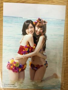 AKB48 さよならクロール HMV/LOWSON特典 生写真 渡小嶋陽菜 松井珠理奈 SKE48 店舗特典