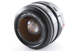 ★現状品★ミノルタ MINOLTA 35-70mm 4★SD001