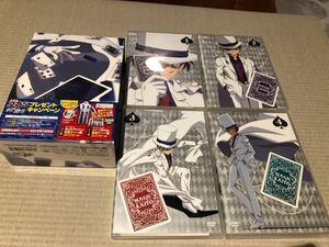 まじっく快斗 初回限定DVD全4巻セット 全巻収納BOX付 検索)名探偵コナン、ヤイバ、鬼滅の刃