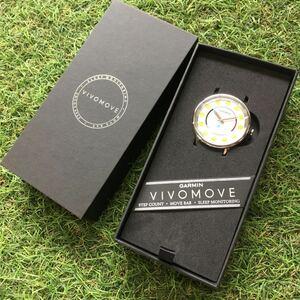BC244-A29 GARMIN ガーミン VIVOMOVE 4QJ080511 時計 腕時計 カジュアル ファッション 動作未確認 未使用 展示品 腕時計