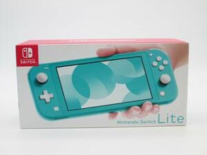 ★任天堂 ニンテンドースイッチ ライト ターコイズ 本体 Nintendo Switch lite★/H
