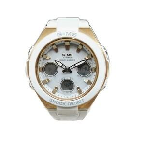 カシオ Baby-G G-MS-W100G 5549 電波ソーラー 腕時計 レディース 美品☆0336