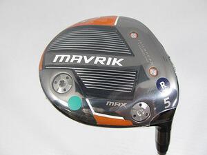 即決 中古未使用 キャロウェイ MAVRIK MAX (マーベリック マックス) フェアウェイ 2020 (日本仕様) 5W ディアマナ 40 for Callaway[0381