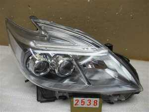 K.332146(2538)◇ZVW30 プリウス 純正 右ヘッドライト/右ヘッドランプ LED KOITO 47-49 打刻サ◇
