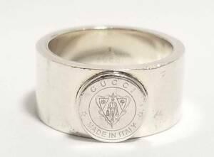グッチ リング 指輪 クレスト 紋章 16 メンズ SV925 GUCCI シルバー シルバーリング