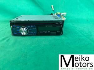 MI175 中古 カロッツェリア carrozzeria CDプレーヤー DVH-P560 CD/DVD/USB/AM/FM/AUX オーディオ デッキ 1DIN 動作保証