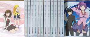 BD 物語シリーズ セカンドシーズン 完全生産限定版 blu-ray  全12巻セット box付
