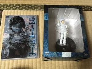 デスノート DEATH NOTE アニメDVD9巻 ニアフィギュア付