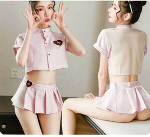 最新作..コスプレ衣装看護婦.ナース服.可愛らしくセクシー.ミニスカート+トップス+Tバック+カチューシャ.艶かしい.ベビードール YLH807