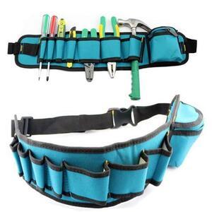工具差し 大容量 ウエストポーチ 工具腰袋 工具 収納 多機能 道具袋 ドライバー入れ レンチ入れ 工具入れ DIY 道具箱 工具箱YWQ2040