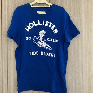 HOLLISTER ホリスター Tシャツ ブルー
